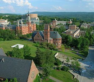 Cornell_University_Ho_Plaza_and_Sage_Hall-300x262