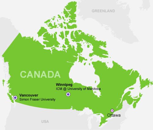 Navitas Pathway canada Map